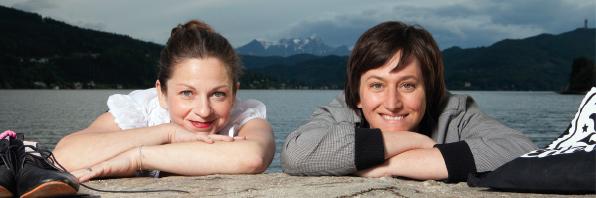 Simone Aichholzer und Sabine Hofstätter